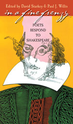 In a Fine Frenzy: Poets Respond to Shakespeare Book Cover