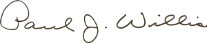 Paul J. Willis Signature